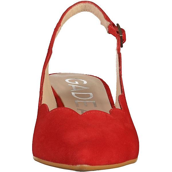 Gadea, Sling-Pumps, rot Qualität  Gute Qualität rot beliebte Schuhe 0d85d3