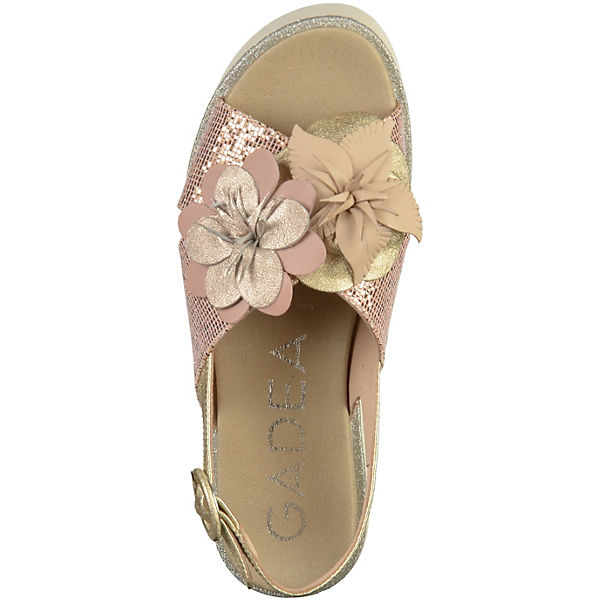 Gadea Qualität Plateau-Sandaletten nude  Gute Qualität Gadea beliebte Schuhe ba3dac