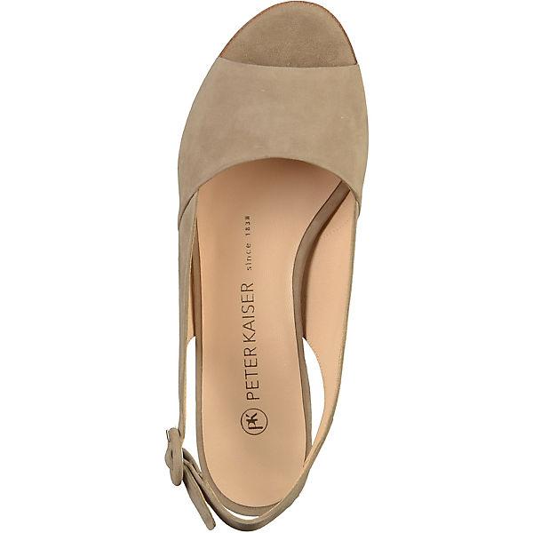 PETER Gute KAISER, Sling-Pumps, beige  Gute PETER Qualität beliebte Schuhe 627d5b