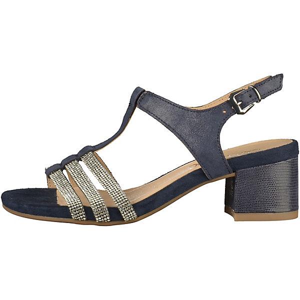 CAPRICE, Klassische Sandaletten, dunkelblau dunkelblau Sandaletten,   455ea2