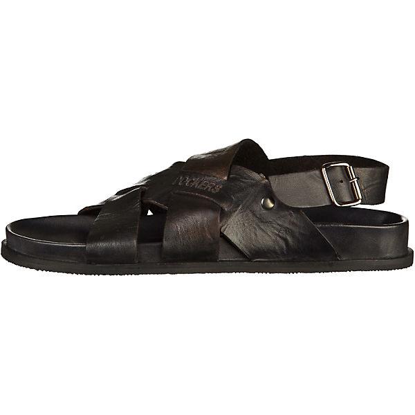 Dockers by Gerli Klassische Sandalen schwarz  Gute Qualität beliebte Schuhe
