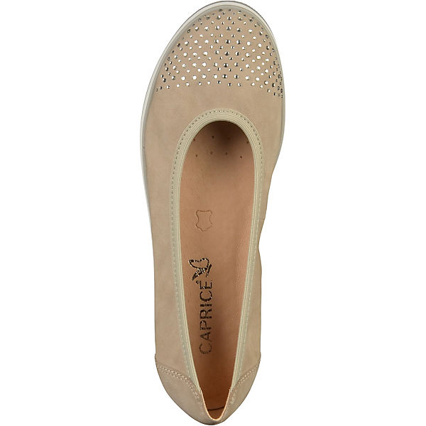 CAPRICE, Klassische Ballerinas, beliebte beige  Gute Qualität beliebte Ballerinas, Schuhe 16beaf