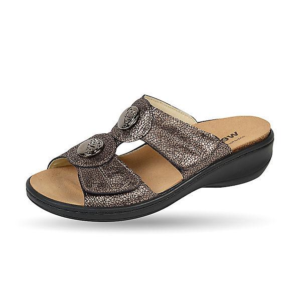 Weeger, Pantoletten, bronze Gute Qualität beliebte Schuhe