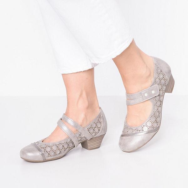 Relife, Spangenpumps, beige  Gute Qualität beliebte Schuhe