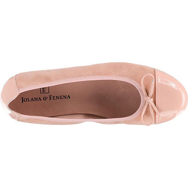 JOLANA & FENENA, Qualität Klassische Ballerinas, rosa  Gute Qualität FENENA, beliebte Schuhe 5e598e