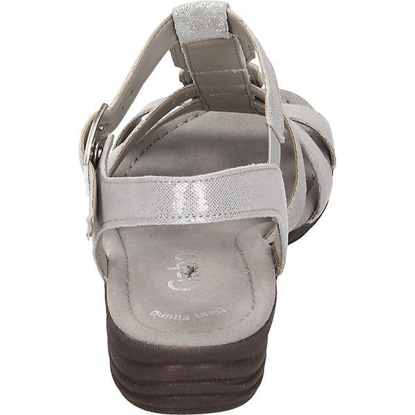 Gabor grau T Sandaletten Gabor Sandaletten T Sandaletten grau grau Steg T Steg Gabor Steg rEarwTqB
