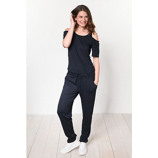 Identity Comma Jumpsuit Casual Identity Jumpsuit dunkelblau Comma Casual gTFaw