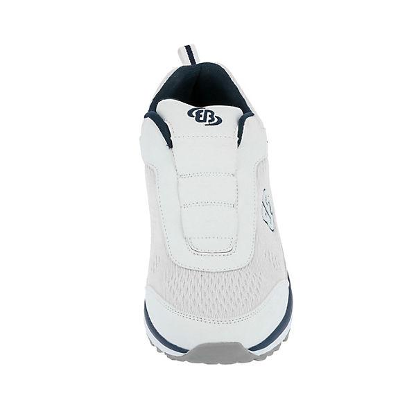 Brütting Performance Gute Sportliche Slipper weiß  Gute Performance Qualität beliebte Schuhe 13afc0