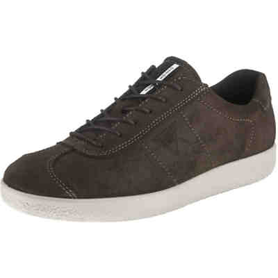 Soft 1 Licorice Oil Suede Sneakers Low