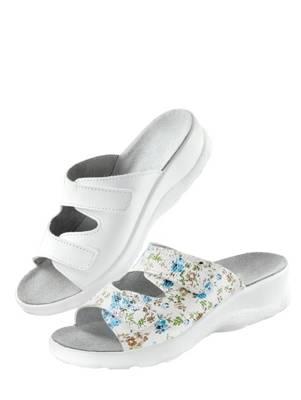 KLINGEL Pantolette beige/floral JqcaWNsWxB