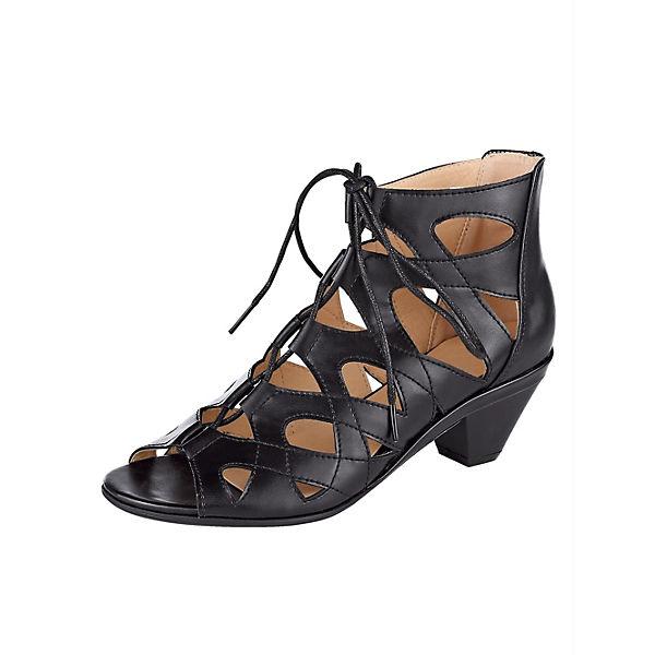 Klassische schwarz Sandaletten Sandaletten Liva Loop Loop Loop schwarz Klassische Liva Liva Klassische 16Rzq