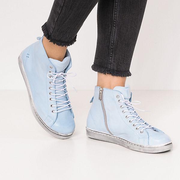 hellblau Andrea hellblau High Conti Sneakers Conti Andrea Conti Andrea Sneakers High Sneakers High q8wZA0q