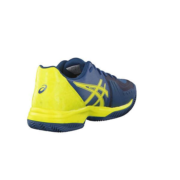 blau Tennisschuhe E801N Clay gelb Speed 4589 ASICS wZ1Uxq0W