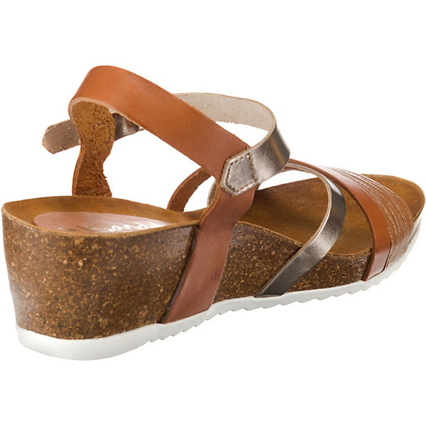 Keilsandaletten Oh Oh cognac my Sandals my ZWHF8gnI