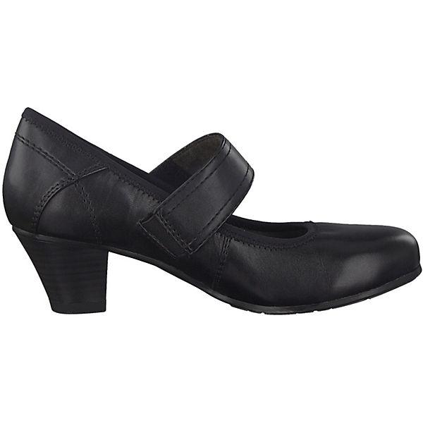 Jana Spangenpumps schwarz  beliebte Gute Qualität beliebte  Schuhe 93213a