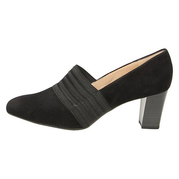PETER KAISER Gute Klassische Pumps schwarz  Gute KAISER Qualität beliebte Schuhe f7f936