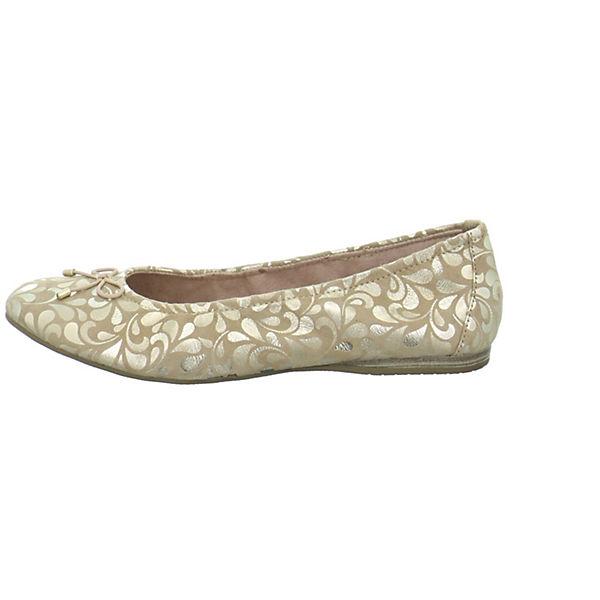 Tamaris Klassische Ballerinas beige  Gute Qualität beliebte Schuhe