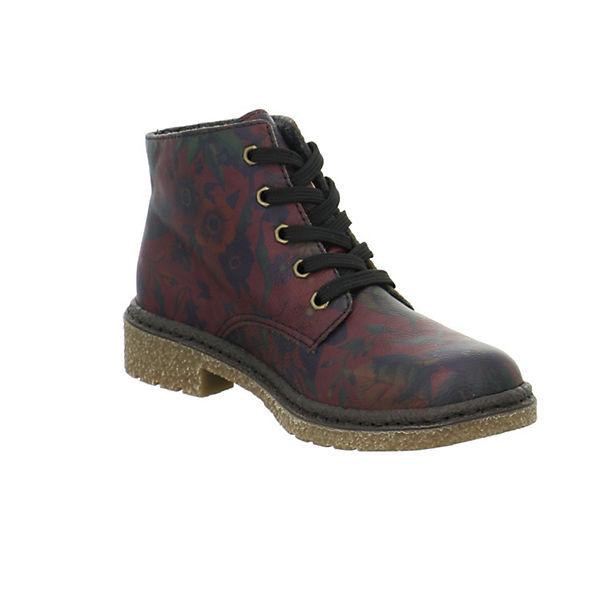 rieker, Qualität Schnürstiefeletten, rot  Gute Qualität rieker, beliebte Schuhe 89314c