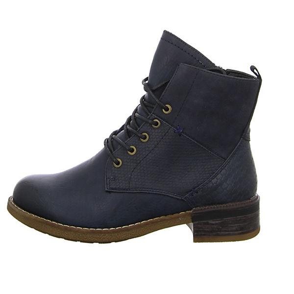 rieker, Schnürstiefeletten, beliebte blau  Gute Qualität beliebte Schnürstiefeletten, Schuhe d9746d