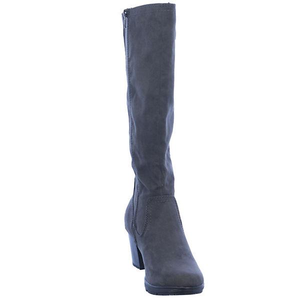 Jana, Klassische Stiefel, Stiefel, Klassische grau   377e67
