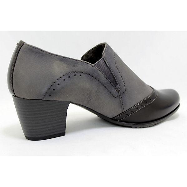 Jana, Hochfront-Pumps, grau Qualität  Gute Qualität grau beliebte Schuhe 1437bb