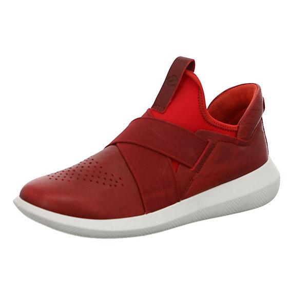 ecco ecco rot On Slip Slip Sneaker P6xqfTY