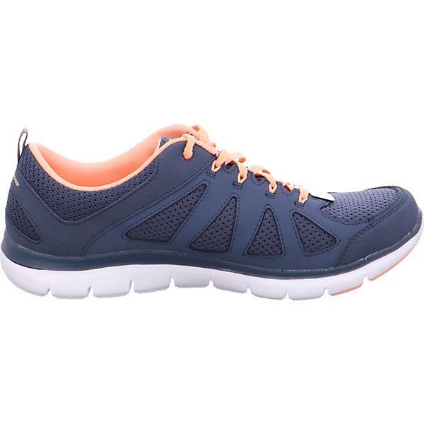 SKECHERS, Sneakers Gute Low, blau  Gute Sneakers Qualität beliebte Schuhe 4799cc