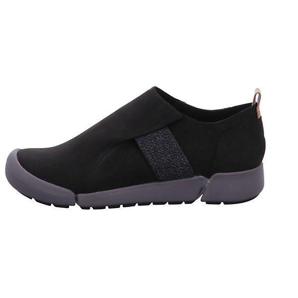 Clarks Slip-On-Sneaker schwarz  Gute Qualität beliebte Schuhe