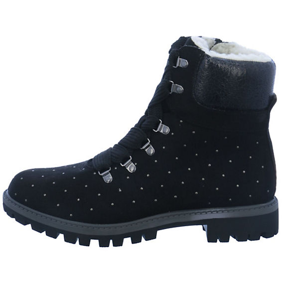 Tamaris, Schnürstiefeletten, schwarz Qualität  Gute Qualität schwarz beliebte Schuhe f6bcfc