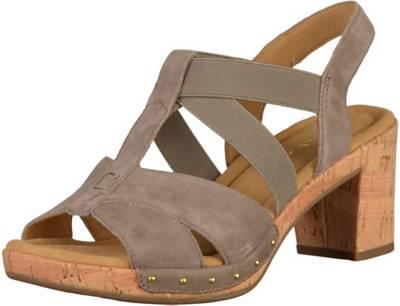Gabor Klassische Sandaletten, braun, braun