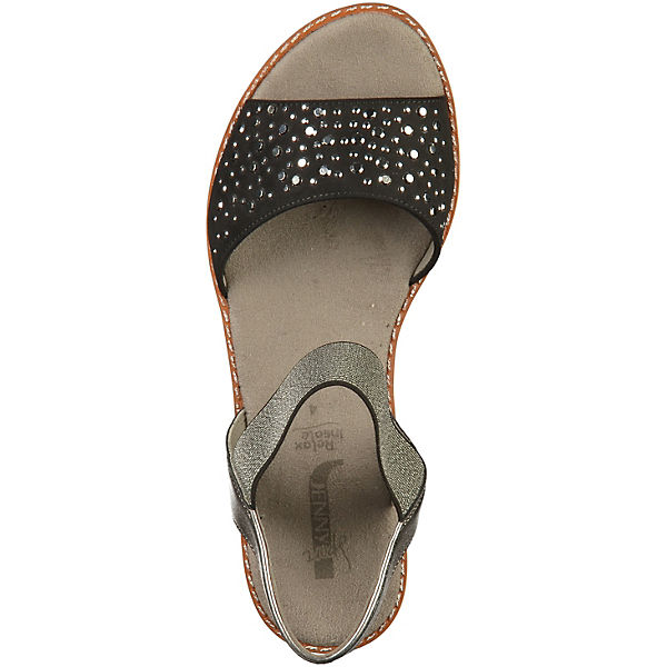 JENNY, Keilsandaletten, beliebte schwarz  Gute Qualität beliebte Keilsandaletten, Schuhe 5250d4