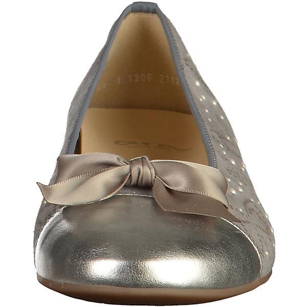 ara Klassische grau Klassische Ballerinas grau ara Ballerinas 6FAq7qdw1n