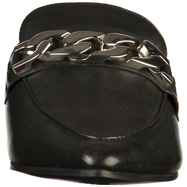 BRONX, Boho Pantoletten, schwarz beliebte  Gute Qualität beliebte schwarz Schuhe 32b3a9
