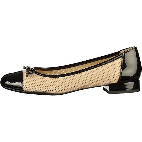 GEOX, Klassische Ballerinas, natur  Gute Qualität beliebte Schuhe