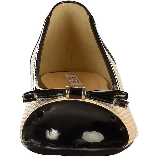 GEOX, Gute Klassische Ballerinas, natur  Gute GEOX, Qualität beliebte Schuhe 5dd29e