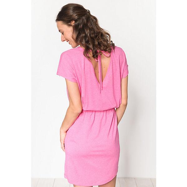 Moto pink ICHI Jerseykleid Moto ICHI pink Jerseykleid d4qgwx4