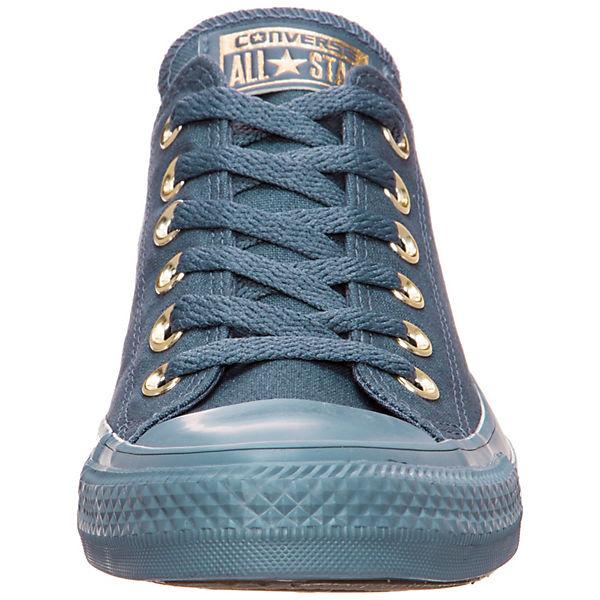 CONVERSE, Chuck Taylor OX All Star Mono Glam OX Taylor Sneakers Low, blau  Gute Qualität beliebte Schuhe c556eb