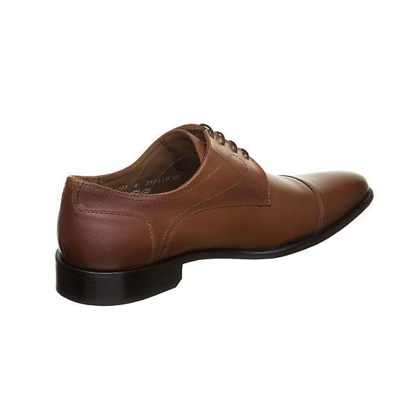 MANZ, Essex Essex Essex Business-Schnürschuhe, cognac  Gute Qualität beliebte Schuhe 507ee2