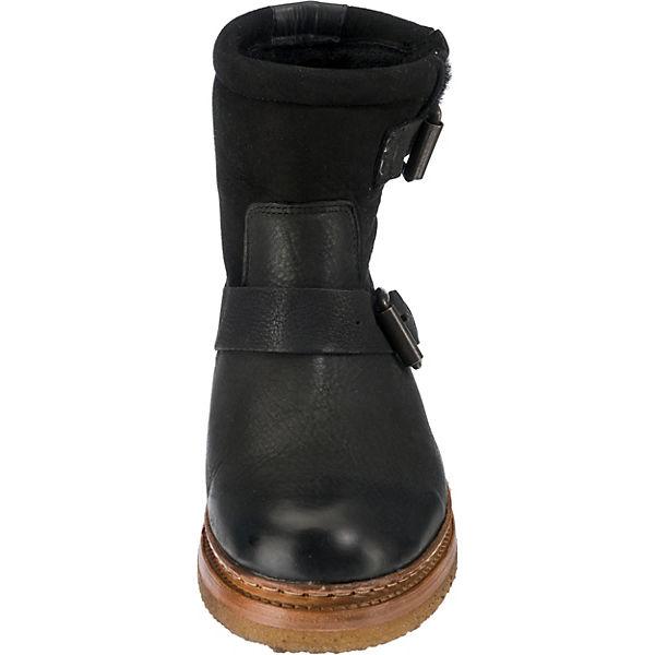 Shabbies Amsterdam, Winterstiefeletten, schwarz Schuhe  Gute Qualität beliebte Schuhe schwarz 2b0736