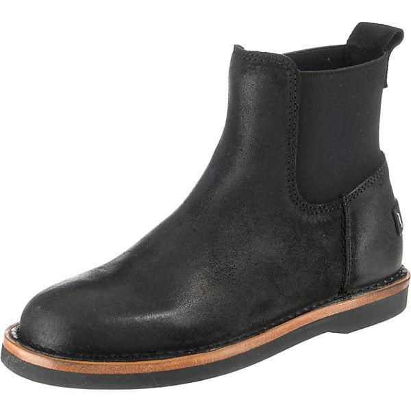 schwarz Shabbies Amsterdam Amsterdam Chelsea Shabbies Boots w06X0Zx