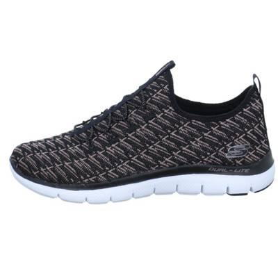 SKECHERS Sneaker 'FLEX APPEAL 2.0 INSIGHTS' in schwarz