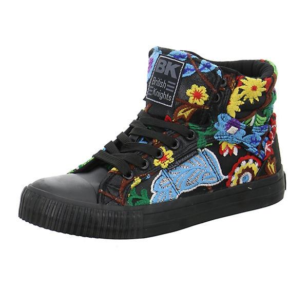 British schwarz Knights, Dee Sneakers High, schwarz British   61284f