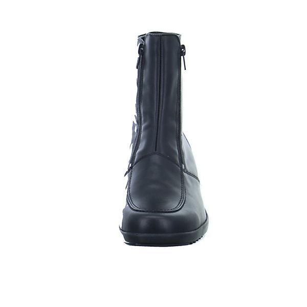 Hissa Klassische schwarz 25 Stiefeletten WALDLÄUFER TqwYPT