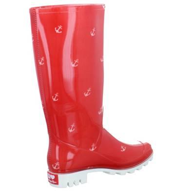 Happy Slipper Hooker-Käthe Damen Gummistiefel Größe 39 Rot (Rot) NfWWCvwY