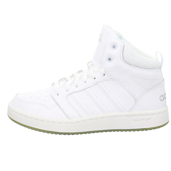 High Super Cloudfoam Hoops adidas Inspired weiß Sport Sneakers qRgpYY