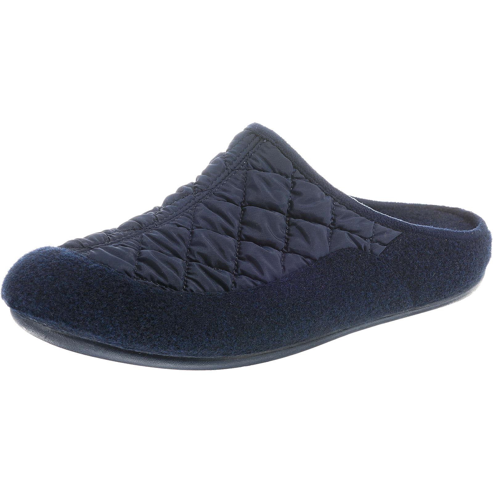 Florett Livia Pantoffeln blau Damen Gr. 36