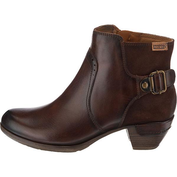 Pikolinos, Ankle ROTTERDAM Ankle Pikolinos, Boots, dunkelbraun   7a4799