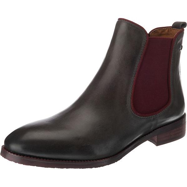 ROYAL Pikolinos grau Boots rot Chelsea qWPBYAwX
