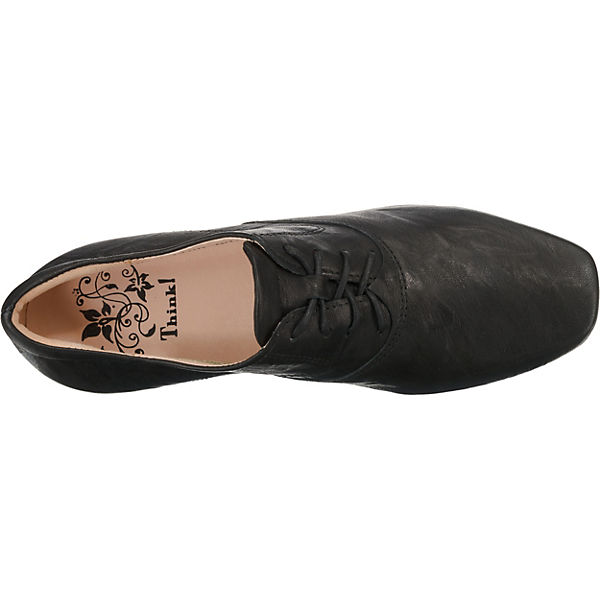 Think!, Schnürpumps, schwarz  beliebte Gute Qualität beliebte  Schuhe 556aef