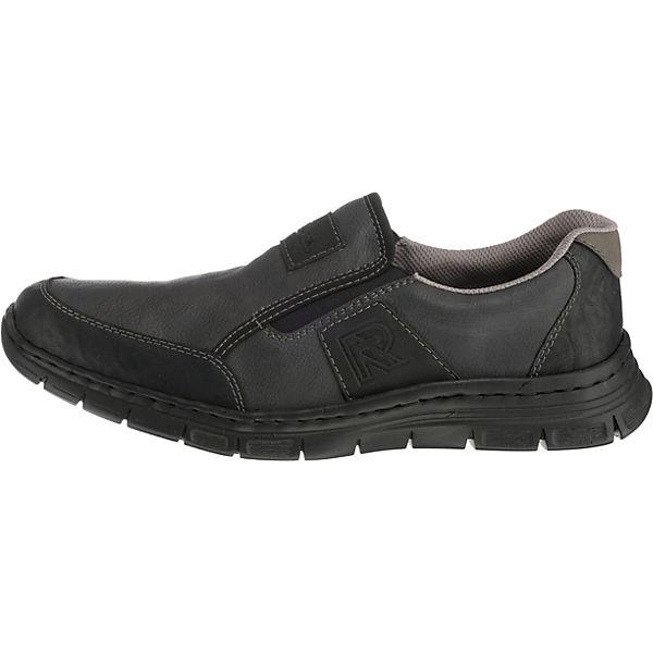 rieker, Slip-On-Sneaker, grau-kombi     2eba84